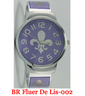 BR Fleur De Lis-002 Ladies Bangle Watch