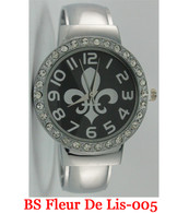 BS Fleur De Lis-005 Ladies Bangle Watch
