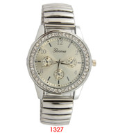 1327 Geneva Ladie's Stretch Band Watch