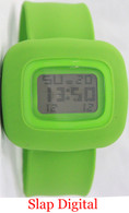 Digital Silicone Slap Watch