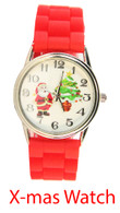 X-mas Geneva Silicone Watch