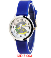 003 Geneva kids silicone band watch