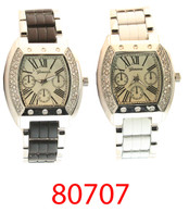 80707 Geneva ladies metal band watch