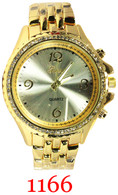 1166 Geneva Ladies' Metal Band Watch