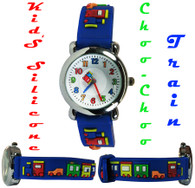 Kid's Krazy Silicone Band Watch