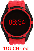 Touch-102 Silicone Band Watch