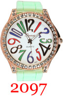2097 Ladies Silicone Band Watch