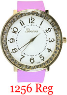 1256 Regular Ladies Silicone Band Watch