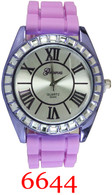 6644 Ladies Silicone Band Watch