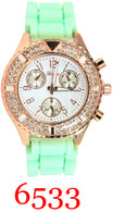6533 Ladies Silicone Band Watch