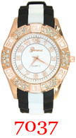 7037 Ladies Silicone Band Watch