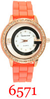 6571 Ladies Silicone Band Watch