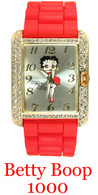 Betty Boop 1000 Ladies Silicone Band Watch