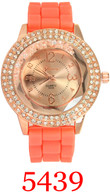 5439 Ladies Silicone Band Watch