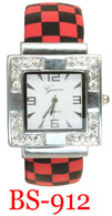 BS-912 Checkered Ladies' Bangle Watch