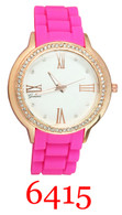6415 Ladies' Silicone Band Watch