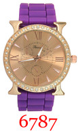 6787 Ladies' Silicone Band Watch