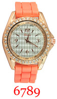 6789 Ladies' Silicone Band Watch