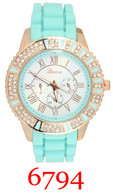 6794 Ladies' Silicone Band Watch