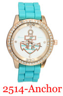 2514 Anchor Ladies' Silicone Band Watch