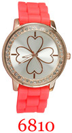 6810 Ladies' Silicone Band Watch