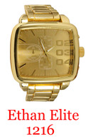 1216-Ethan Elite Men's Metal Band Watch