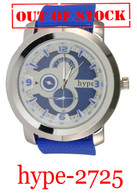 2725-hype Men's Silicone Band Watch
