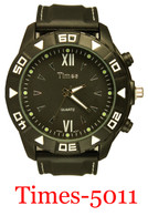5011-Times Men's Silicone Band Watch