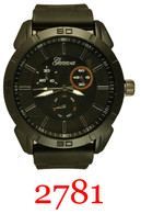 2781-men's silicone band watch