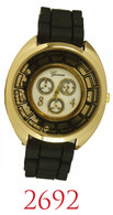 2692-ladies silicone band watch