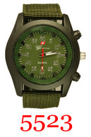 5523 Men's Army Style Watch