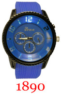 1890 Men's Light Up Silicone Band Watch