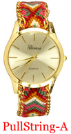 Tribal-A Ladies' Pullstring Band Watch