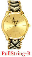 Tribal-B Ladies' Pullstring Band Watch