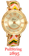2895 Ladies' PullString Band Watch