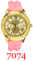 7074 Ladies' Silicone Band Watch