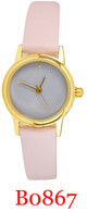 B0867 Ladies' Leather Band Watch