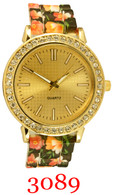 3089 Ladies' Silicone Band Watch