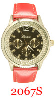 2067S Ladies' Leather Band Watch