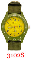 3012 Men's Army Style Band Watch