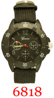 6818 Men's Army Style Band Watch