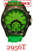 2956T Men's Silicone Band Watch