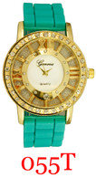 055T Ladies' Silicone Band Watch