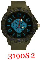 3190S2 Men's Silicone Band Watch