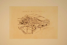 Predock, Antoine, City Hall Commemorative etching