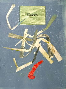 Czech, Hope Suite, 2009, monotype, collage, mixed media, 18 x 24 in., archival carbon print avail.