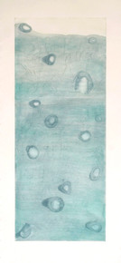 Ward, Liz, Ice Core, 2012, Color aquatint and etching on Japan paper