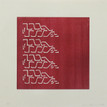 Conner, Ann, Beams 2, 2002, color woodcut, 18 x 18 in.