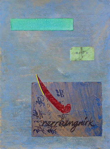Smith, Mark L., Inuktitut, Hope Suite, 2014, monotype, collage, mixed media, 24 x 18 in., archival carbon print avail.