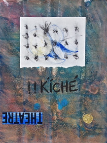 Smith, Mark L., Mayan, Hope Suite, 2014, monotype, collage, mixed media, 24 x 18 in., archival carbon print avail.